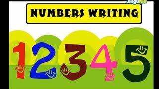 getlinkyoutube.com-Learn Numbers Writing| Nursery Rhymes | Preschool | Kids | Kindergarten