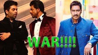 getlinkyoutube.com-Shah Rukh Khan & Karan Johar Gang Up Against Ajay Devgan | Bollywood News