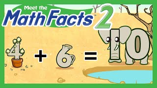 getlinkyoutube.com-Meet the Math Facts Level 2 - 4+6=10