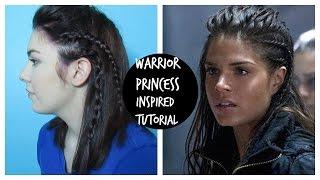 getlinkyoutube.com-Warrior Princess Braid / 'Octavia' From The 100