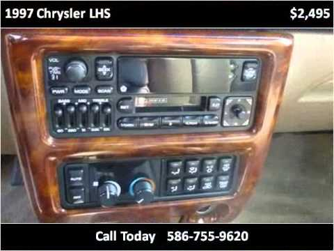 1997 chrysler lhs problems online manuals and repair. Black Bedroom Furniture Sets. Home Design Ideas