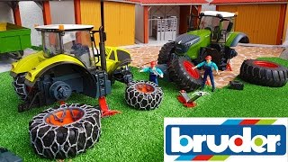 getlinkyoutube.com-BRUDER TOYS RC tractors NEWS delivery