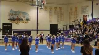 getlinkyoutube.com-Wheaton North Varsity Cheer @ Sectionals 2014