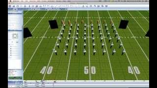 getlinkyoutube.com-Chapter 2.2 - Changing Uniforms During Performance - EnVision 3D Drill Design