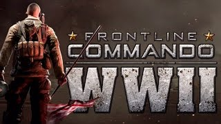 getlinkyoutube.com-Frontline commando WWII หน่วยรบแนวราบ (Gameplay iOS / Android)