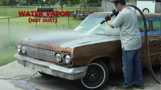 getlinkyoutube.com-Dustless Blasting Strips a '63 Impala in Under 1 Hour!