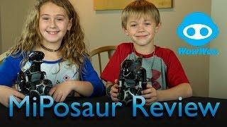 getlinkyoutube.com-MiPosaur by WowWee -  Review
