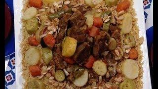 getlinkyoutube.com-كبسة اللحم بالخضروات - منال العالم