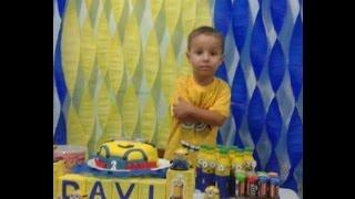 Aniversário de 3 anos do Davi - Minions