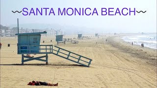 getlinkyoutube.com-Santa Monica Beach - Los Angeles ,CA HD