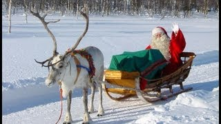 getlinkyoutube.com-Reno & Papá Noel - Los secretos de renos de Santa Claus - Laponia Finlandia Rovaniemi