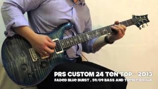 getlinkyoutube.com-PRS Custom 24 10 Top vs Artist Package