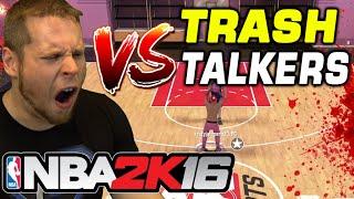 getlinkyoutube.com-1v1 TRASH TALKERS on NBA 2K16 MYCOURT - TRASH TALKER CHALLENGE