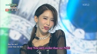 getlinkyoutube.com-【LIVE中字】 150821 完美畫質 少女時代 snsd - You Think @ Music Bank Comeback Stage