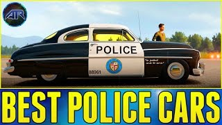 getlinkyoutube.com-Forza Horizon 2 Online : Top Gear Challenge - BEST POLICE CAR CHALLENGE!!!