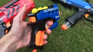 getlinkyoutube.com-Nerf Mod: The Rival Heracles (First Nerf Rival Pistol/Sidearm)