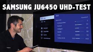 getlinkyoutube.com-Im Test: Samsung 55JU6450, 65JU6450 Serie 6 der UHD 4K TV Fernseher 2015 JU6450UXZG