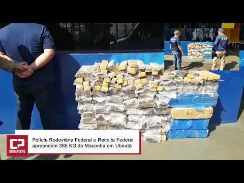 Polícia Rodoviária Federal e Receita Federal apreendem 365 KG de Maconha em Ubiratã - Cidade Portal