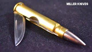 Making a Folding Bullet Knife