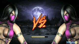 getlinkyoutube.com-Mortal Kombat Demo Mileena Walkthrough  For the  PS3