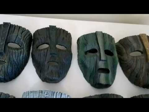 Loki Masks Collection From The Mask Jim Carrey