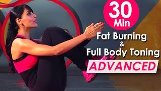 getlinkyoutube.com-30 Min Fat Burning & Full Body Toning Workout (Advanced ) – Bipasha Basu Fit & Fabulous You