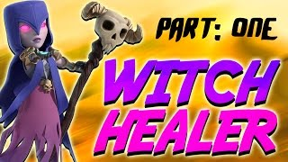 "getlinkyoutube.com-Clash of Clans - *NEW ARMY* ""Witch Healer"" Part One!"