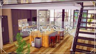 The Sims 4| House Build| Instagram Couples studio Loft❤️️ (Speed Build)| Part 1/ CC LINK!!
