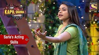 Sarla's Acting Skills  - The Kapil Sharma Show