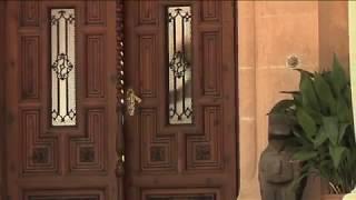 S.M. el Rey despacha con el presidente del Gobierno, Mariano Rajoy, en el Palacio de Marivent