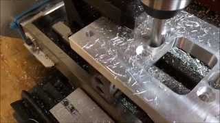 getlinkyoutube.com-Harbor Freight Mini-Mill CNC Conversion - Machining A Part