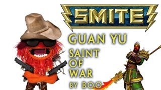 getlinkyoutube.com-SMITE | Guan Yu Commentary - Tips and Tricks for Guan Yu