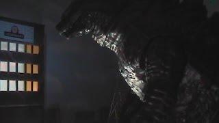 getlinkyoutube.com-Godzilla Stop Motion & Review - JAKKS Pacific Giant Size Godzilla Figure