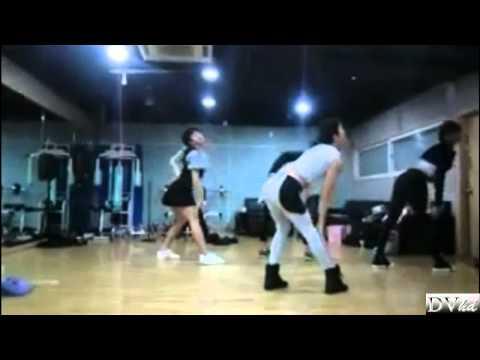 Miss AM (2AM) - Bad Girl, Good Girl (dance practice 2) DVhd