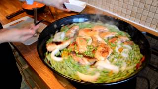 getlinkyoutube.com-recette paella