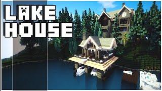 getlinkyoutube.com-Minecraft - Lake House
