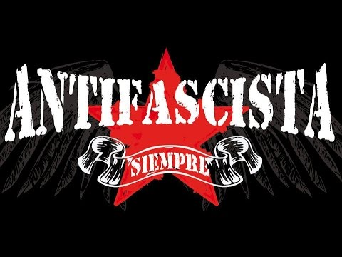 ANTIFASCISTAS en vivo  cenicero club 9-08-2014
