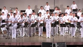 getlinkyoutube.com-海上自衛隊 東京音楽隊 たそがれコンサート [全編]  [2015.8.7] 大阪 Japan Maritime Self-Defense Force (Tokyo Band)