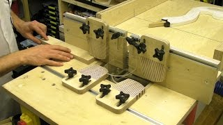 getlinkyoutube.com-Router Table Fence - Featherbaords T Slots Plastic Guard /  Table Saw Extension