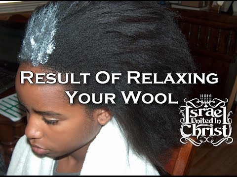 The Israelites: Result Of Relaxing Your Wool