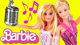 getlinkyoutube.com-BARBIE Rock n' Royals GIANT 3 Foot Long Transforming Stage! Barbie Doll Concert