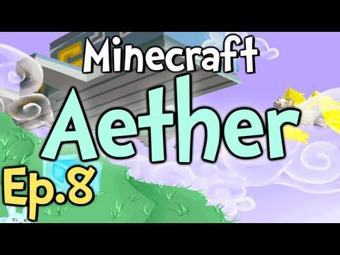 "Minecraft - Aether Ep.8 "" I CAN'T SEE! """