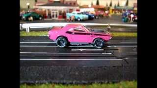 getlinkyoutube.com-Drag Race Thunder. Slot Car Style
