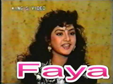 Divya Bharti - Live Interview Before Death