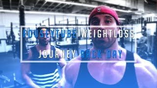 getlinkyoutube.com-Bradley Martyn & FouseyTUBE weightloss journey  BACK DAY