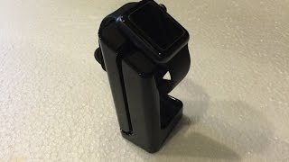 getlinkyoutube.com-Unboxing the E7 Apple Watch Charging Stand/Cradle
