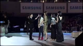 getlinkyoutube.com-140418 Kim Soo Hyun & Jun Ji-hyun@Samsung S5 event [金秀贤全智贤三星见面会智贤选出最佳求爱舞]