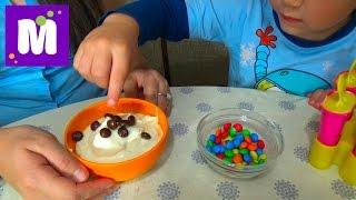 getlinkyoutube.com-Готовим малиновое шоколадное мороженое с тётей Людой Make raspberry chocolate ice cream at home