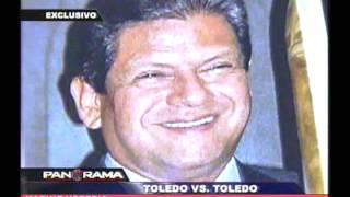 Toledo contra Toledo: las contradicciones del ex Presidente en Panorama