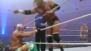 getlinkyoutube.com-triple h john cena vs randy orton kurt angle rey mysterio